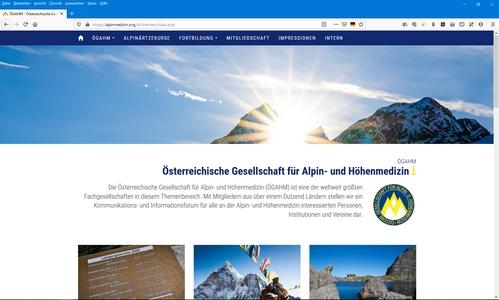 Österr. Gesellschaft für Alpin- und Höhenmedizin